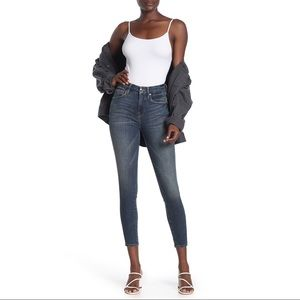 Good American Good Legs High Rise Crop Skinny Jean